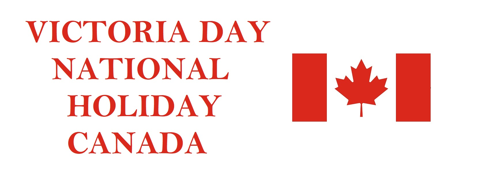 Victoria Day National Holiday, Canada